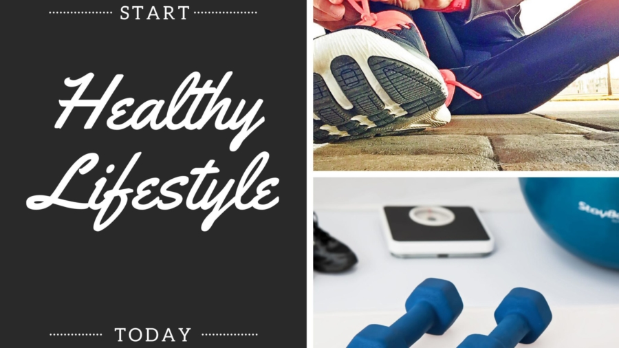 What is the first step towards healthy lifestyle ? - Varsha